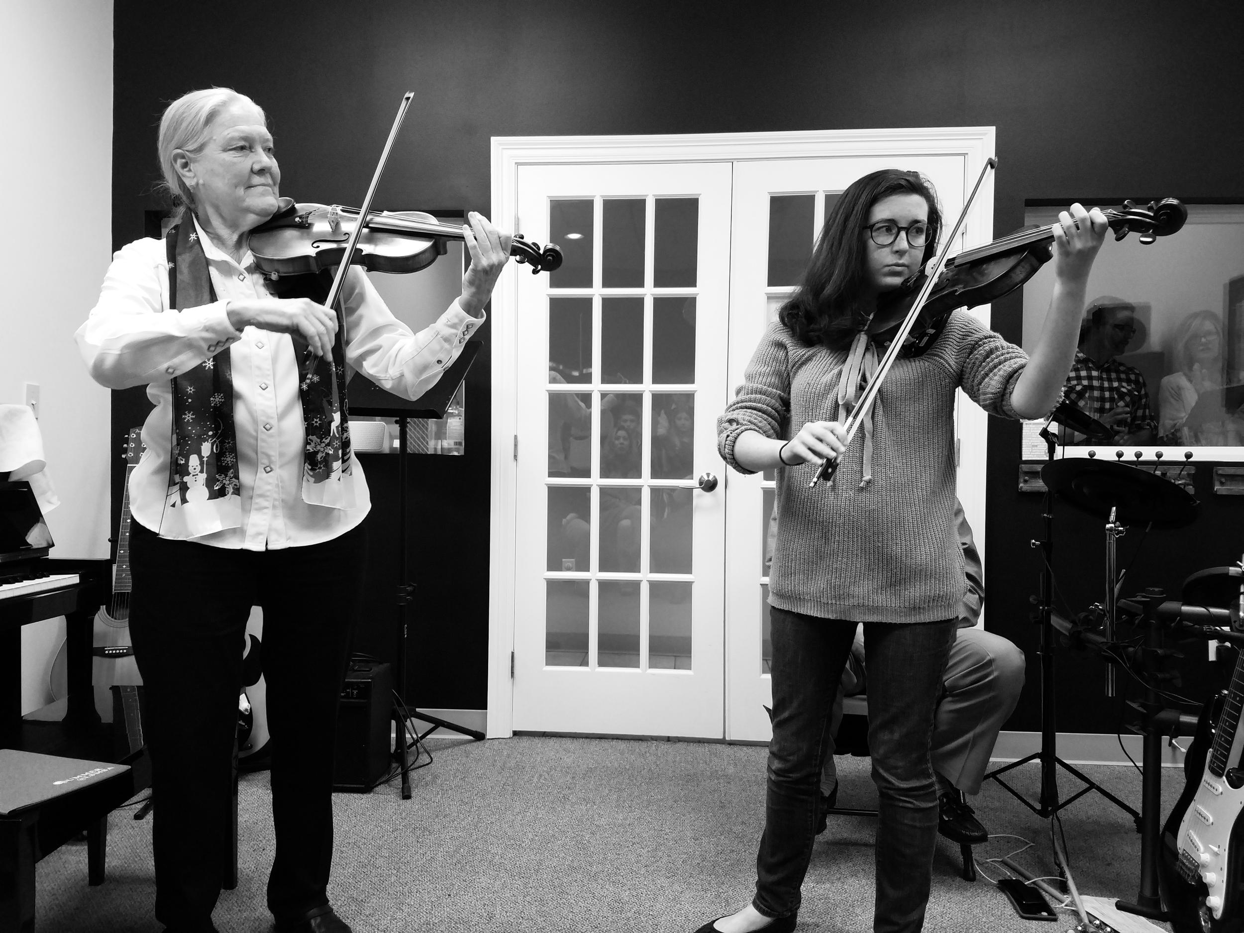 Adult violin classes -