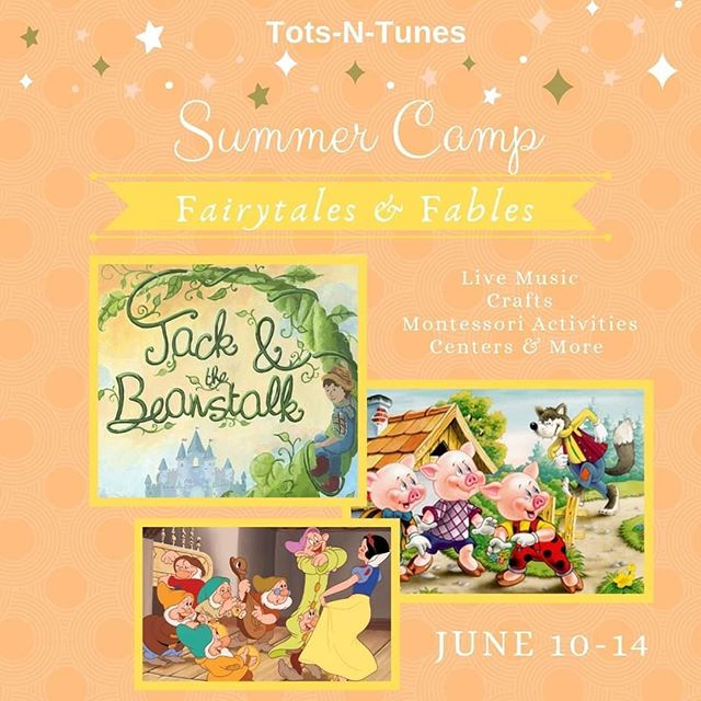 Join us for our Fairytales & Fables Tots-N-Tunes Summer Camp in June! Live music, crafts, and centers based on these classic stories & more. Fun for both BOYS & GIRLS! Spaces are limited.. Call today to sign up! 985-778-0786 #nortlakeacademyofmusic #camp #summercamp #summer #kids #kidscamp #mandevillela #covingtonla #sttammany #sing #learnmusic #playmusic #fun #music #musicacademy #preschool
