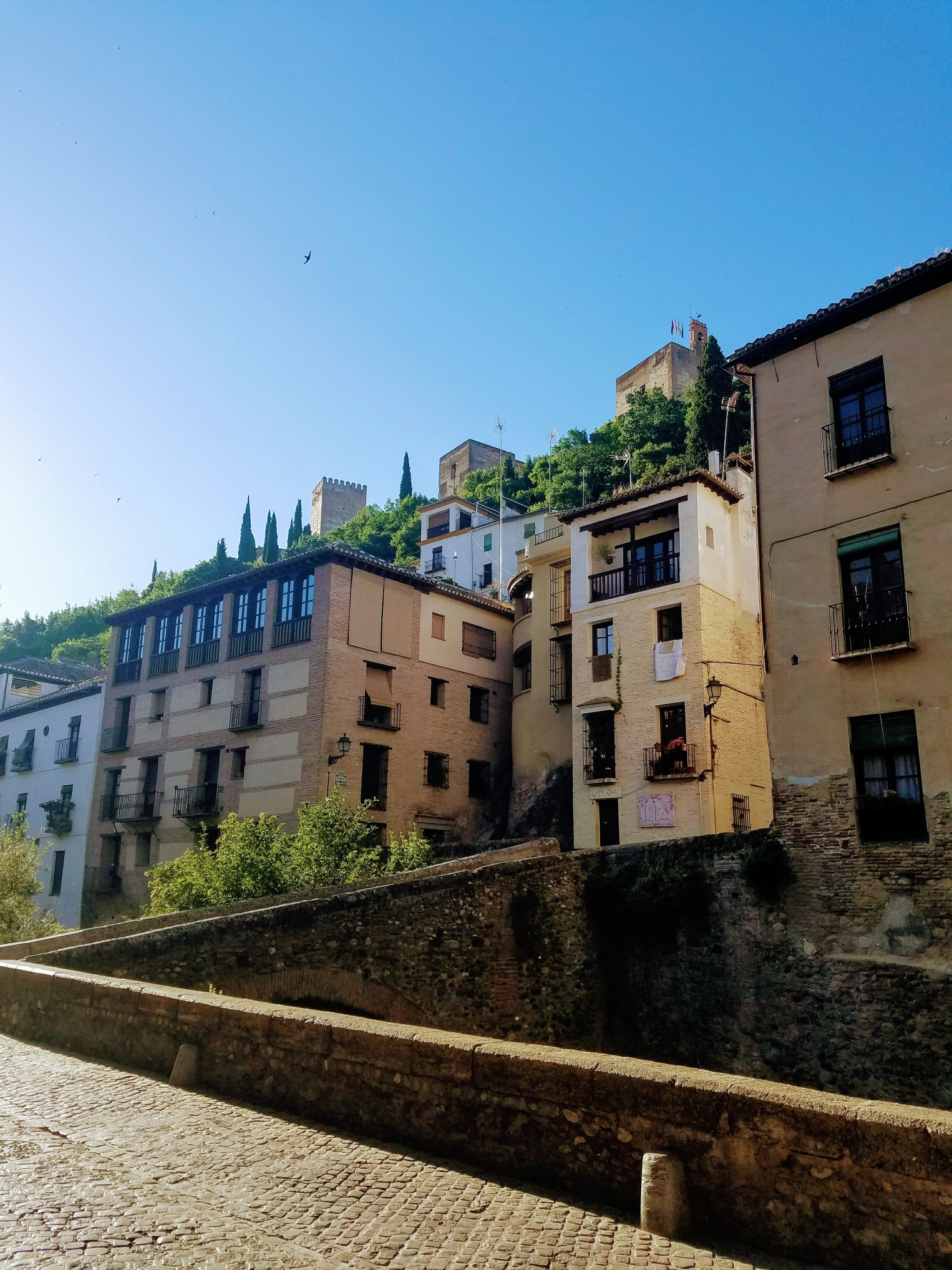 Alhambra from street level