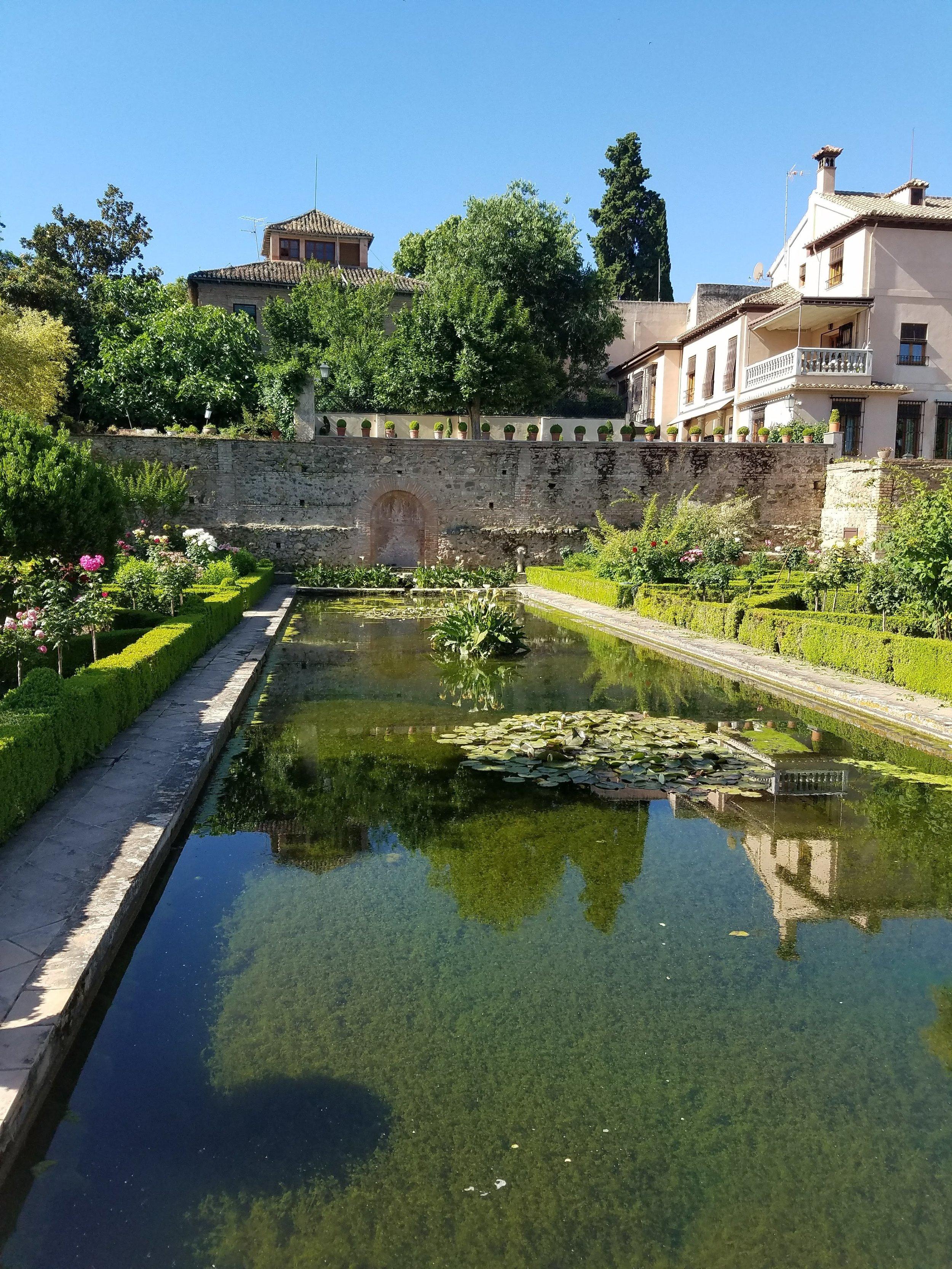 Gardens at Alhambra
