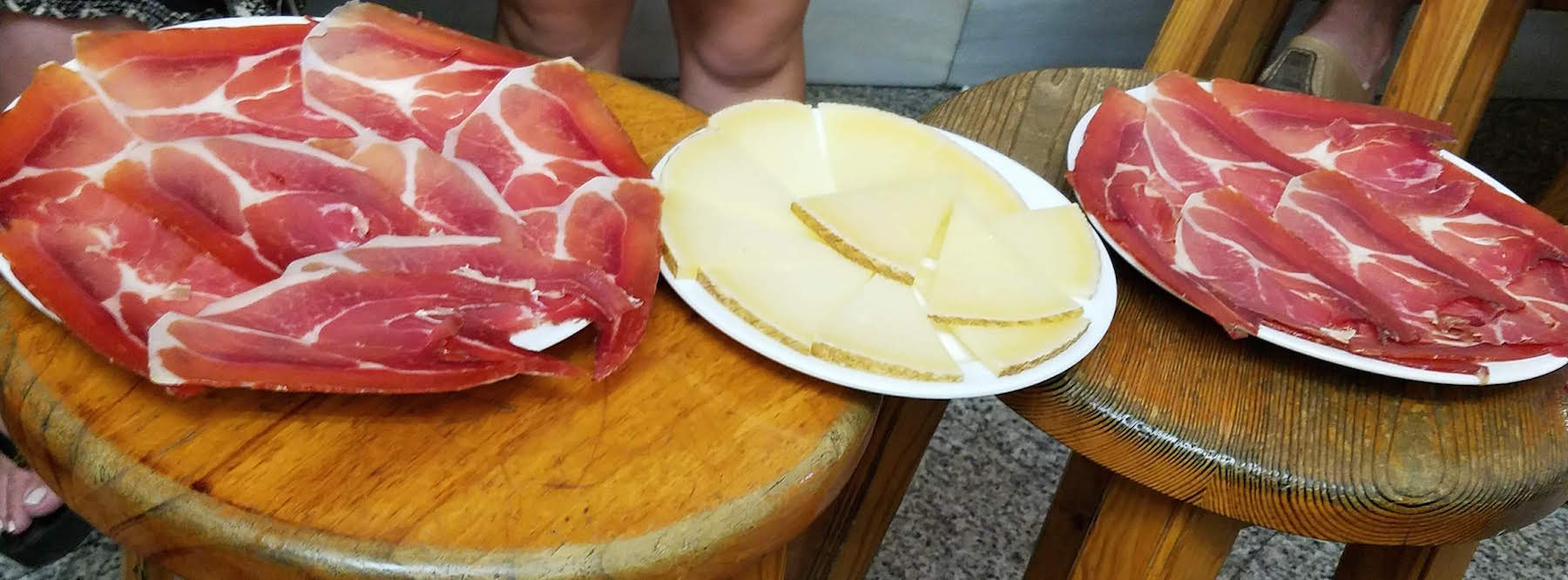 So. Much. Ham and Cheese. In Madrid.