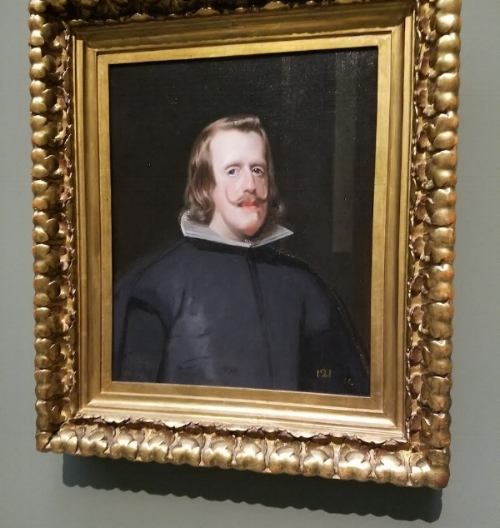 The Hapsburg Chin in Action on the walls of the Prado