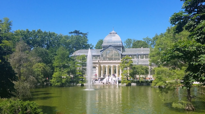 The Crystal Palace in Retiro Park