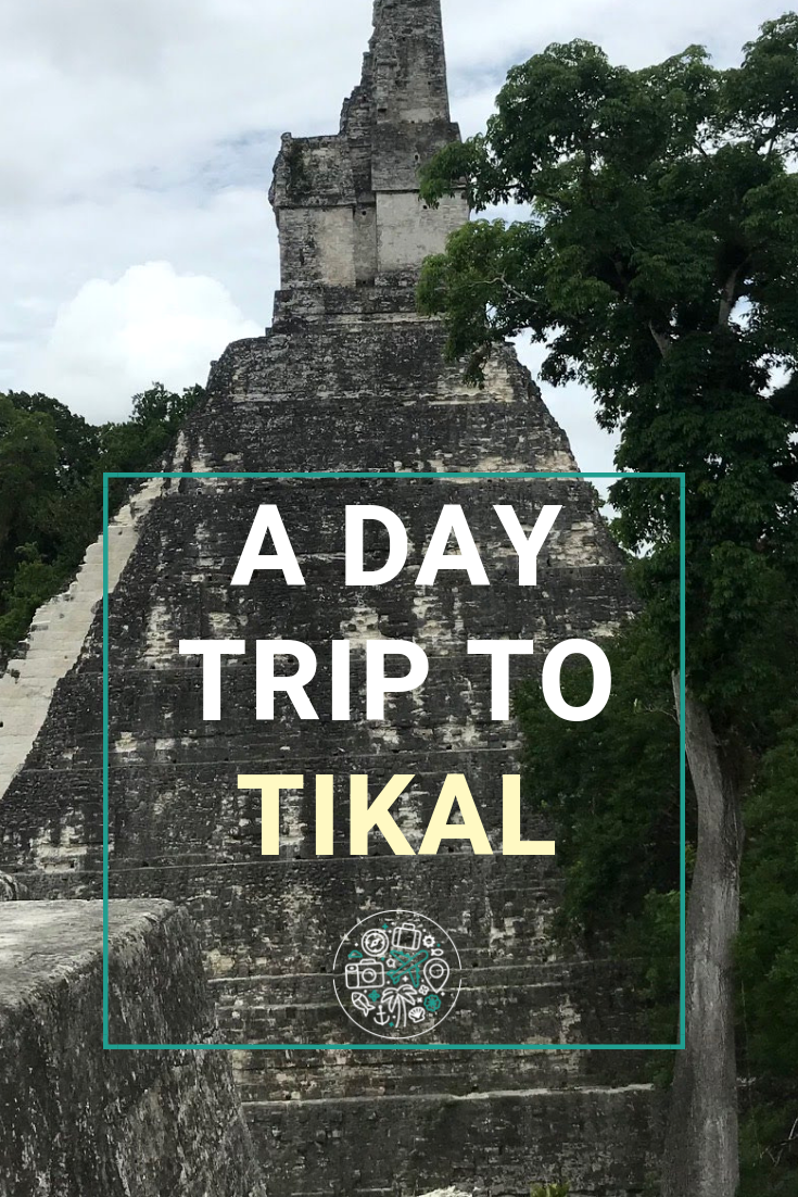 What to expect when crossing the border from Belize to see the Mayan temples of TIkal in Guatamala. Bring comfy shoes, take plenty of water, and prepare for a bumpy drive! #belize #tikal #guatamala #travel