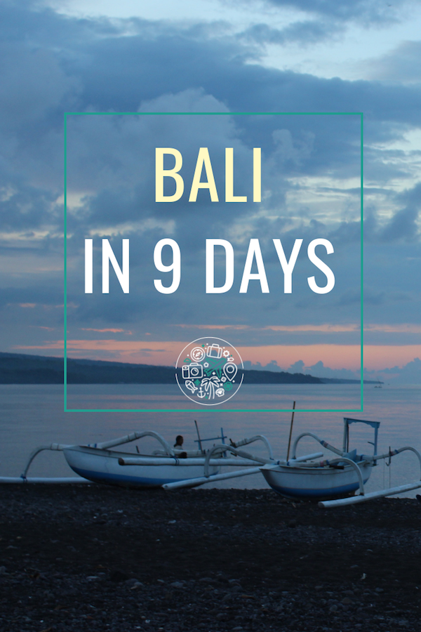 What I saw and did in my nine-day solo adventure in Bali. Includes yoga retreats, rice paddy walks, temples, bintang beers, and an unfortunate sunburn! #bali #indonesia #travel #solotravel
