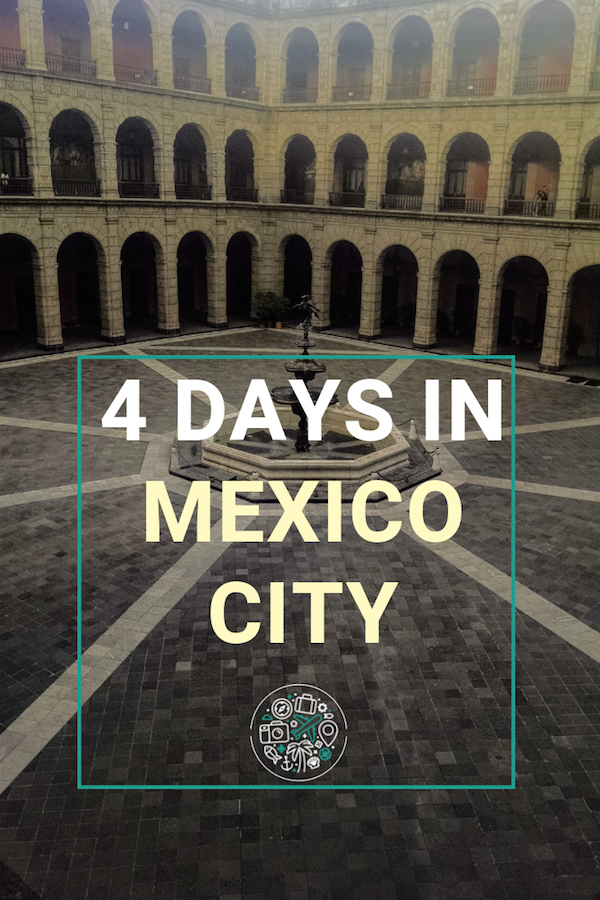 My Suggested Itinerary of what to see and do in 4 days Mexico City, Mexico. From tacos and beer to museums and art and canal tours and what neighborhoods to stay in #cdmx #mexicocity #mexico #travel