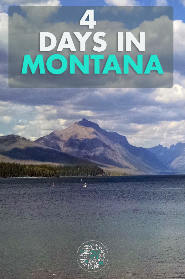 4 Days in Montana - Pin