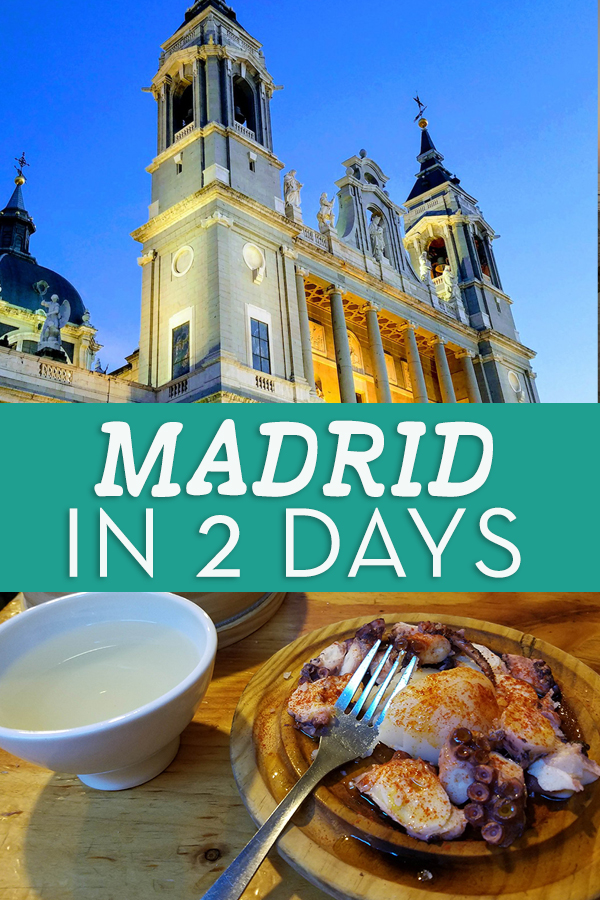 What to see and do in two days in Madrid - from the Guernica and museums to tapas and wine and food tours. #madrid #spain #travel