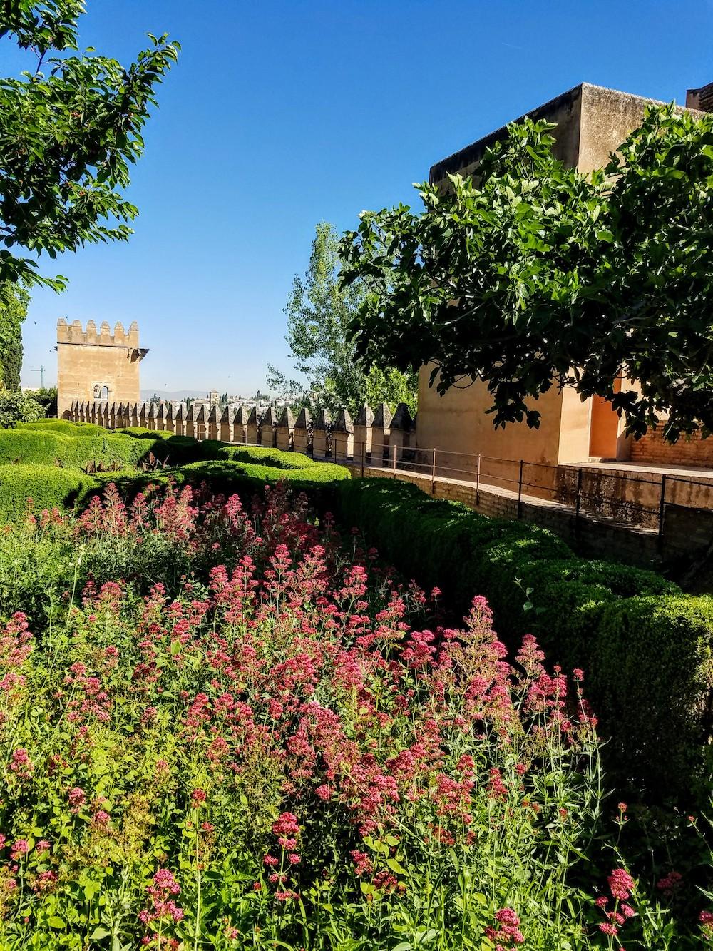 Alhambra Walls