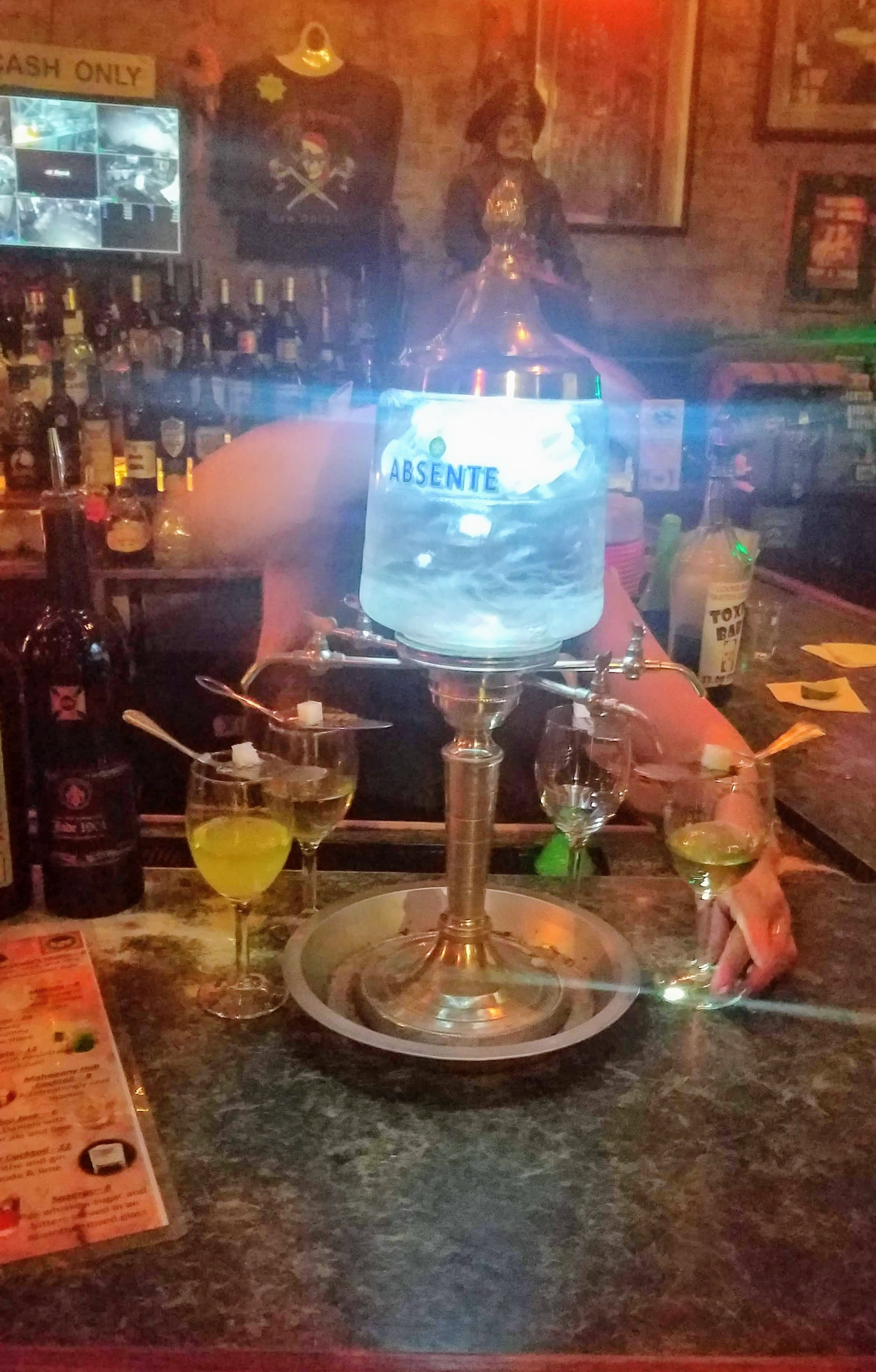 Absinthe Pouring