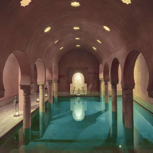From Al-Andalus's website, a view of one of the pools