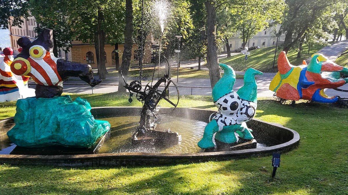 Skeppsholmen outdoor art