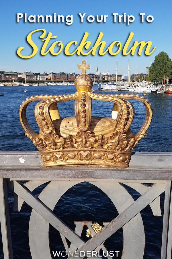 What to know when you're planning your trip to Stockholm Sweden, from neighborhoods to metro tips to how to meet other travelers, and of course the best pasteries! #sweden #stockholm #travel