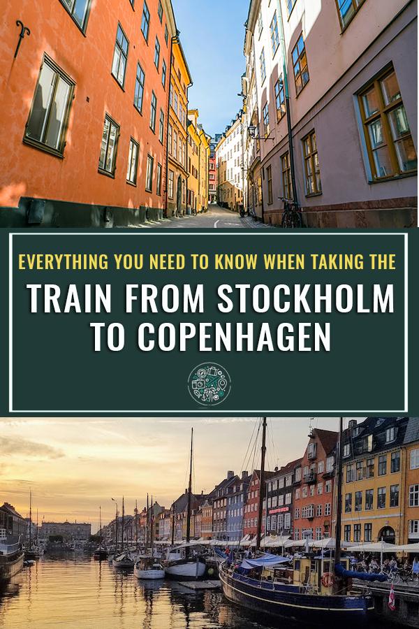 What to expect when taking the train from Stockholm to Copenhagen #sweden #stockholm #traintravel #copenhagen #denmark
