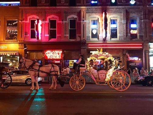 Nashville's nightlife was always steady.