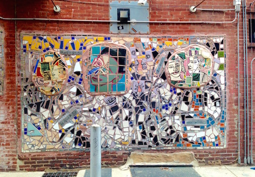 Art is EVERYWHERE in Philly.