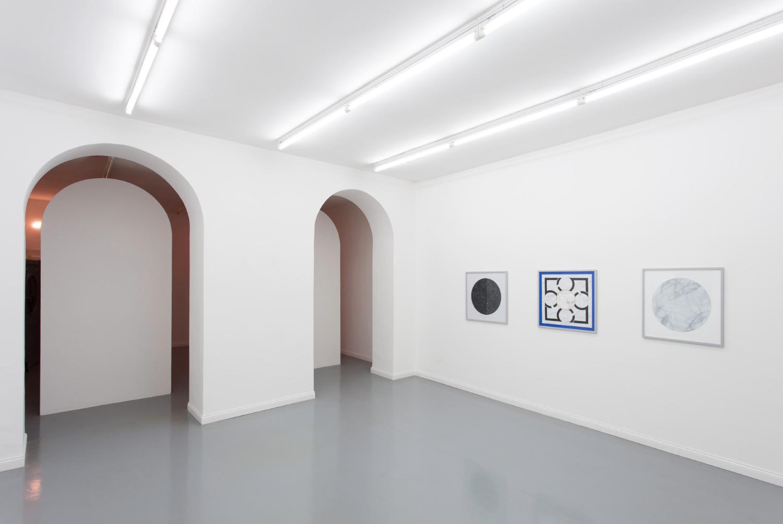 Delia Gonzalez, Exhibition view, Galleria Fonti Napoli.