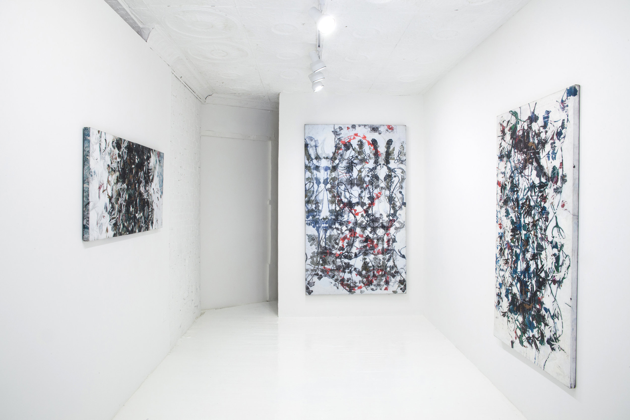 """Installation view of """"Do I still Yearn for My Virginity?"""" at SITUATIONS, NYC"""