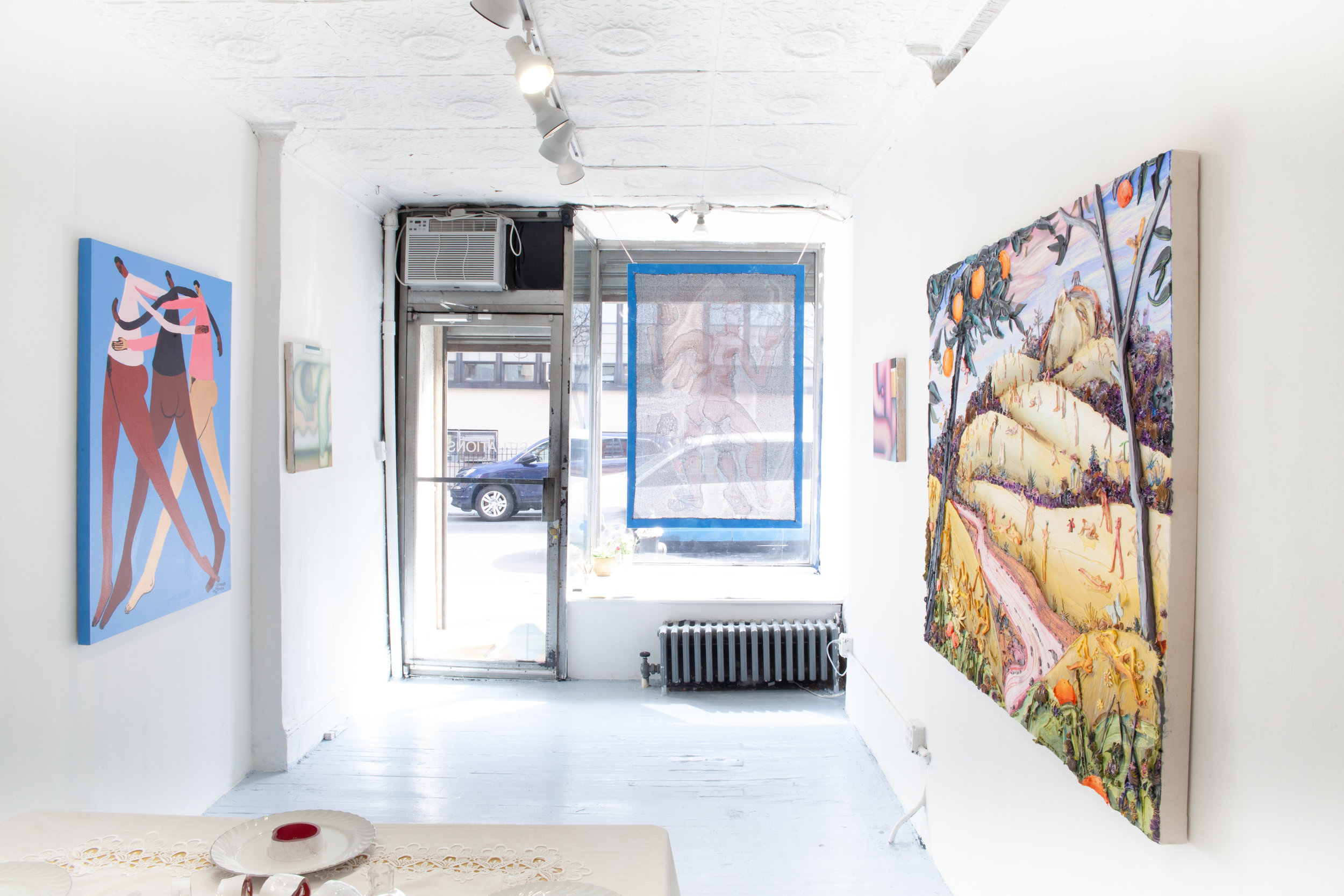 Installation view: SITUATIONS,  Fresh Fruit , 2019