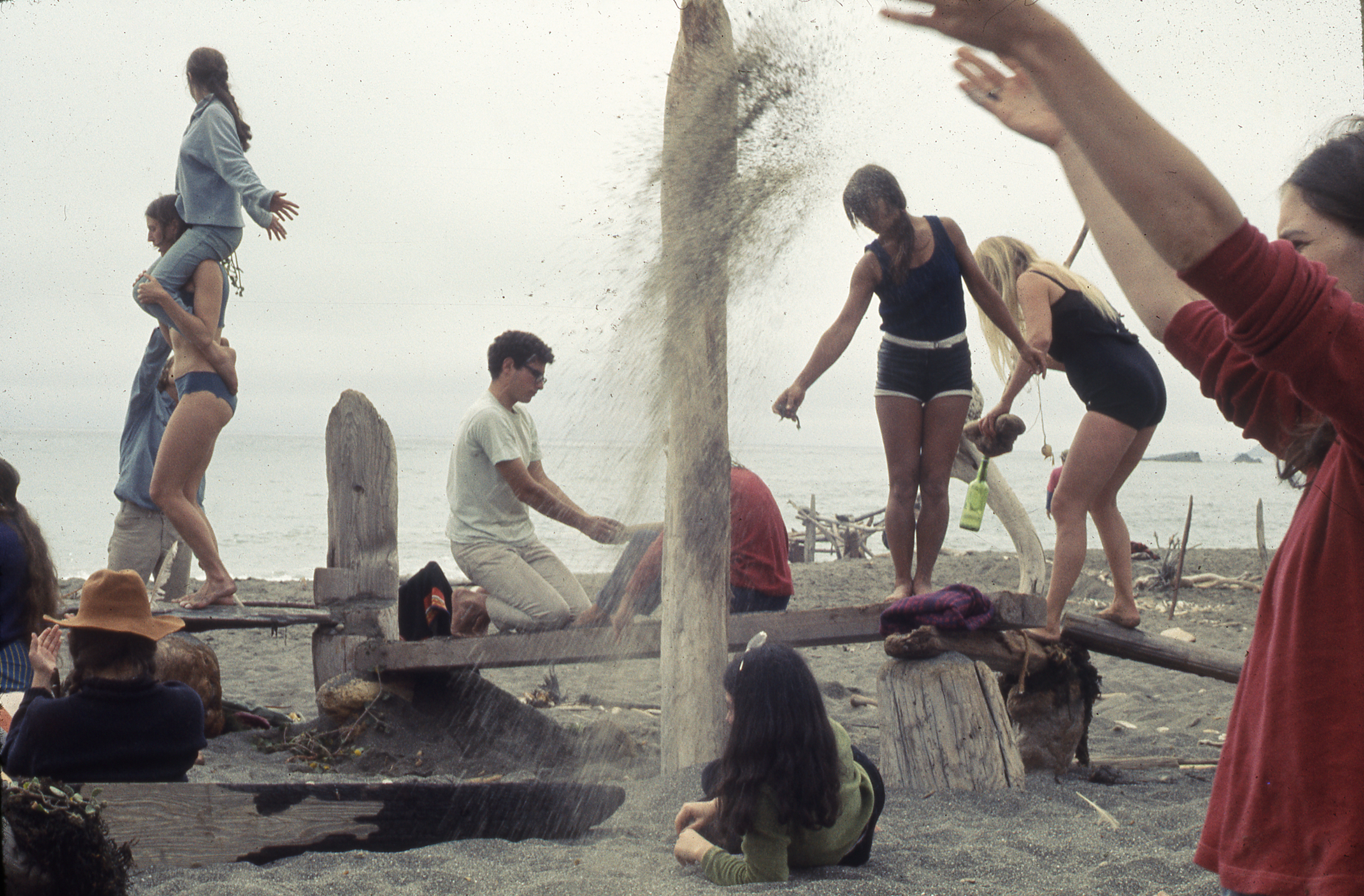Anna & Lawrence Halprin, Experiments in Environment Workshop, Driftwood Village —Sea Ranch, CA, 1968.