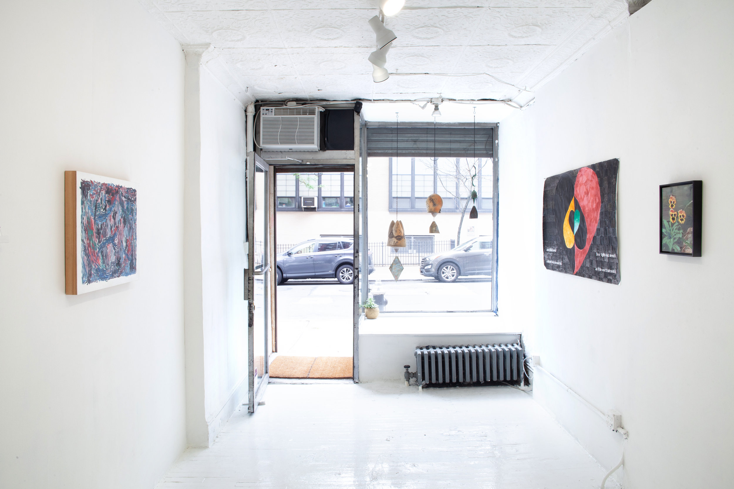 Installation view:  Earthy Anecdote , 2019, SITUATIONS
