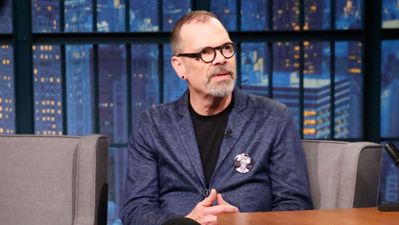 David on  LATE NIGHT WITH SETH MEYERS on November 2, 2017.