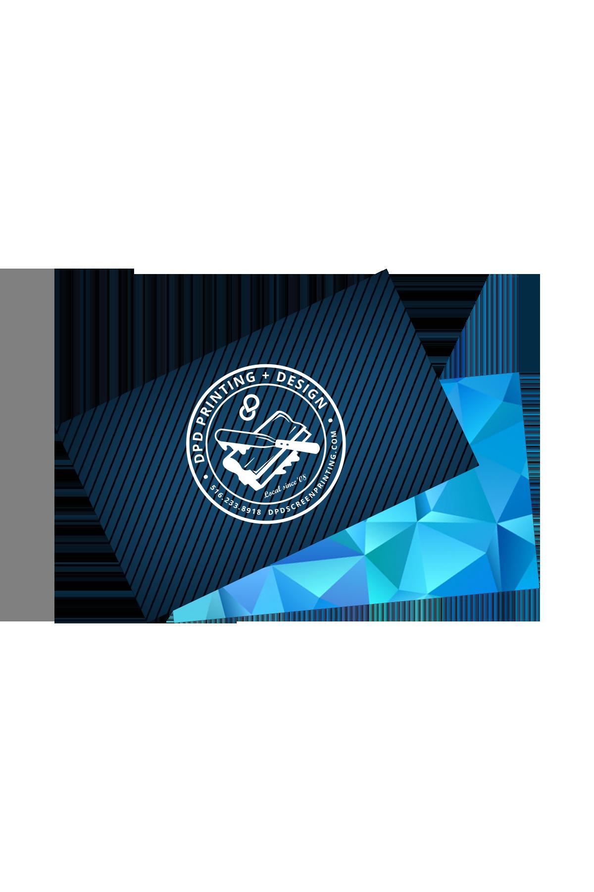 Business Cards - Custom Design, Plastic, Various Sizes
