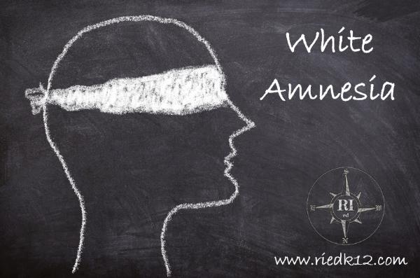 #WhiteAmnesia