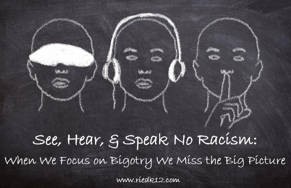See Hear Speak no Racism.PNG