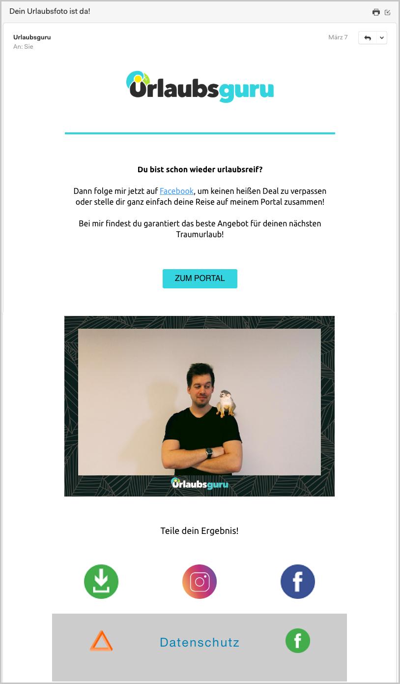 Beispiel // Individuelle Email