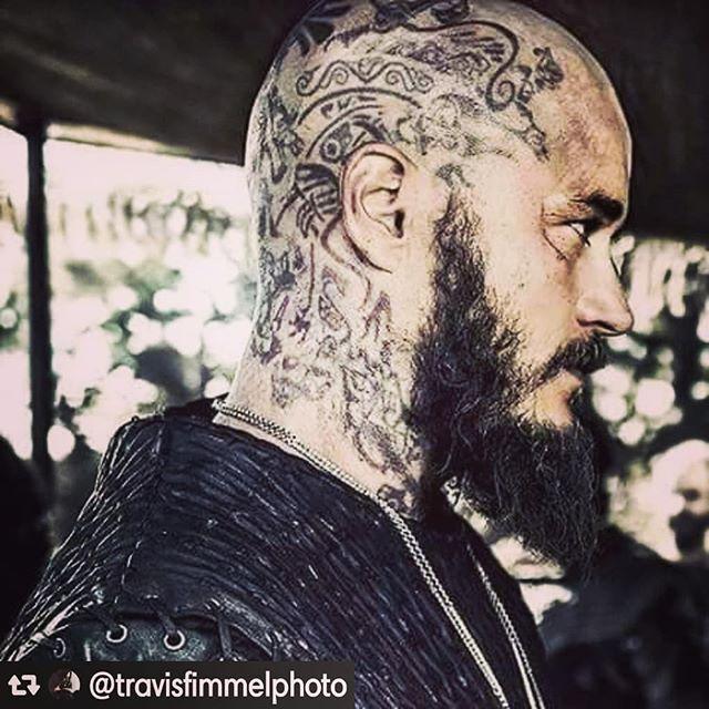 - King Ragnar Lothbrok lives! . . . . #travisfimmel #ragnarlothbrok  #vikings #history #ragnarlothbroklives #rollo #michaelhirst #vikingsofInstagram #kingragnar #athelstan #lagertha #vikingstyle #lagerthalothbrook #shieldmaiden #queenlagertha #floki #longboatbuilder #norsemen #vikinglife #bjorn #bjornironside #ubba #hvitserk #pagans #odin #thorshammer #faith #ivartheboneless #sucks