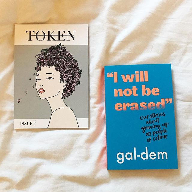 To celebrate the publication of #IWillNotBeErased (which TOKEN founder @sarajafari is a contributor of!) we are doing a giveaway!  To be in for a chance of winning a copy of @galdemzine's first book and the latest issue of TOKEN, like this post and comment what advice you would give to your younger self. Make sure you're following us too!  1 person will be selected at random on 16th June ✨  #bookgiveaway #galdemgrowingup #walkerbooks #tokenmagazine #bookstagram #bookstagram