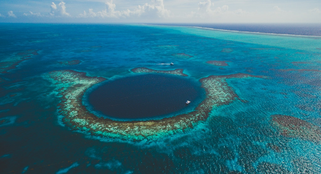 The Blue Hole - Belize.