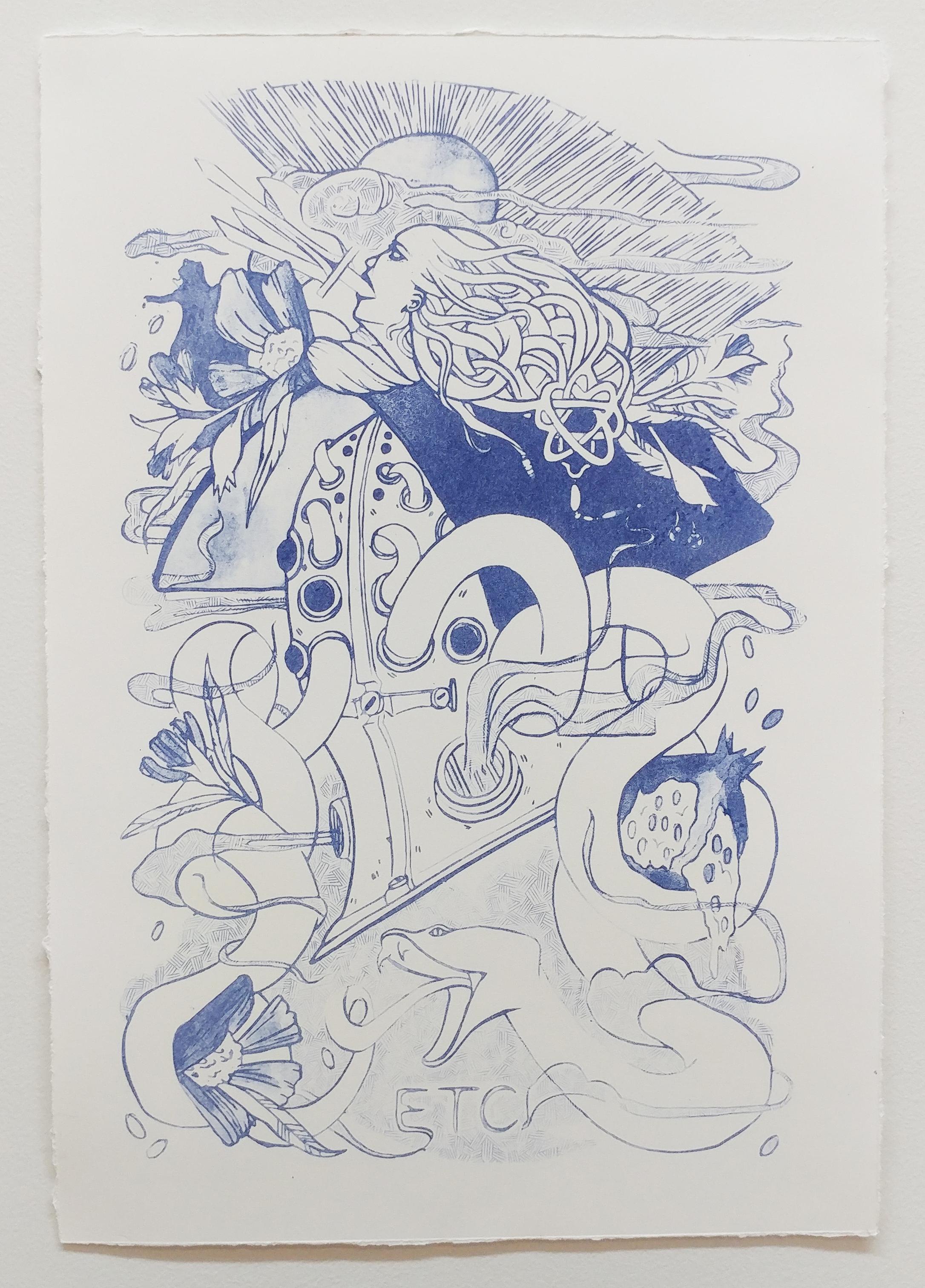 My Sigil - Plate Lithograph Print