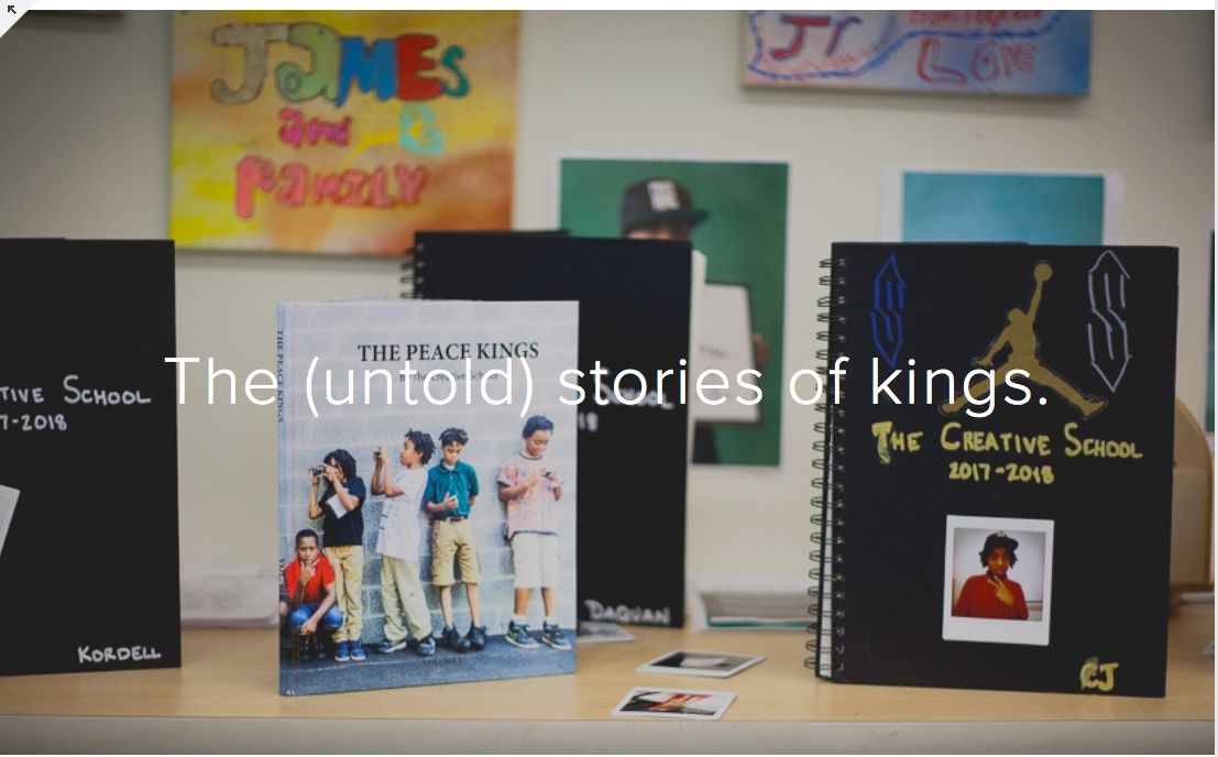The Creative School. - Learn how to co-create with Kings at The Creative School.