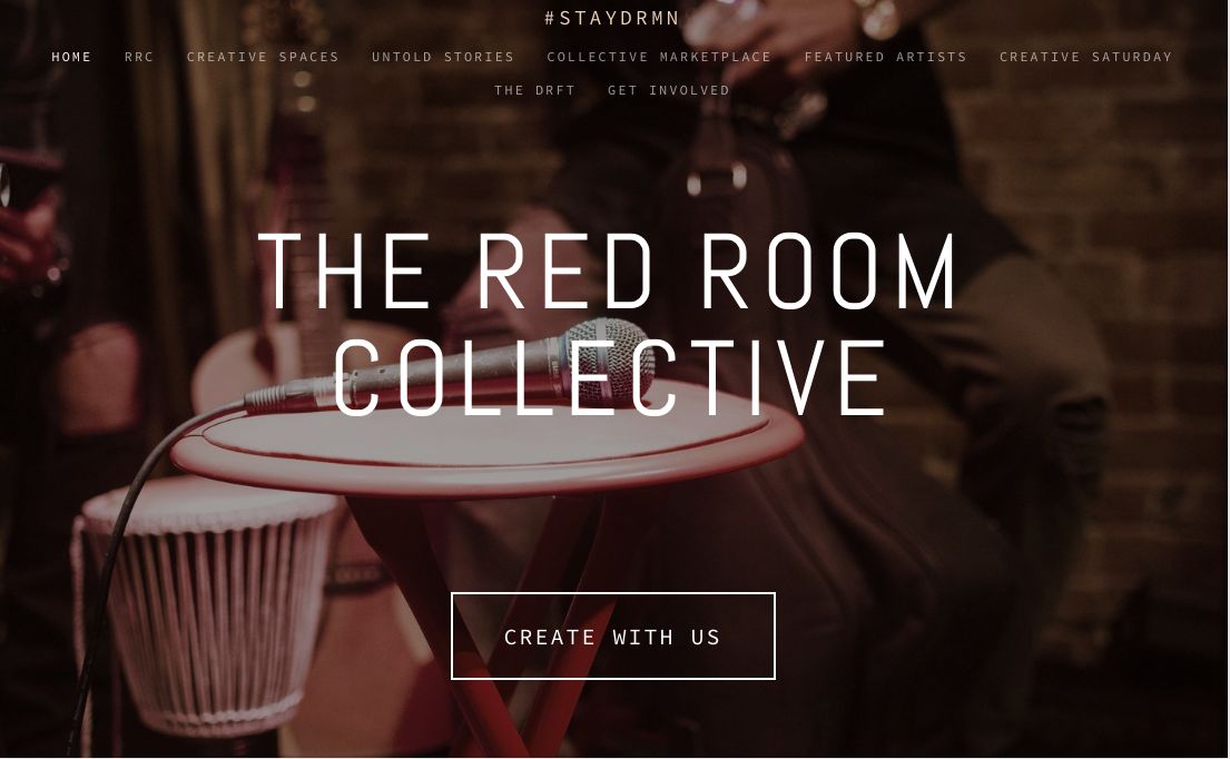 The Red Room Collective. - Learn how to be a part of a creative community in the DMV area.