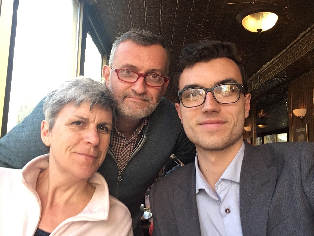 Me and my parents in NYC last year