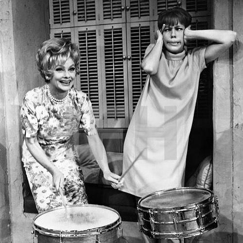 Lucy and Carol Burnett