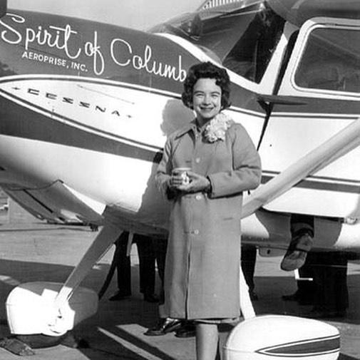 Jerri Mock and the Spirit of Columbus