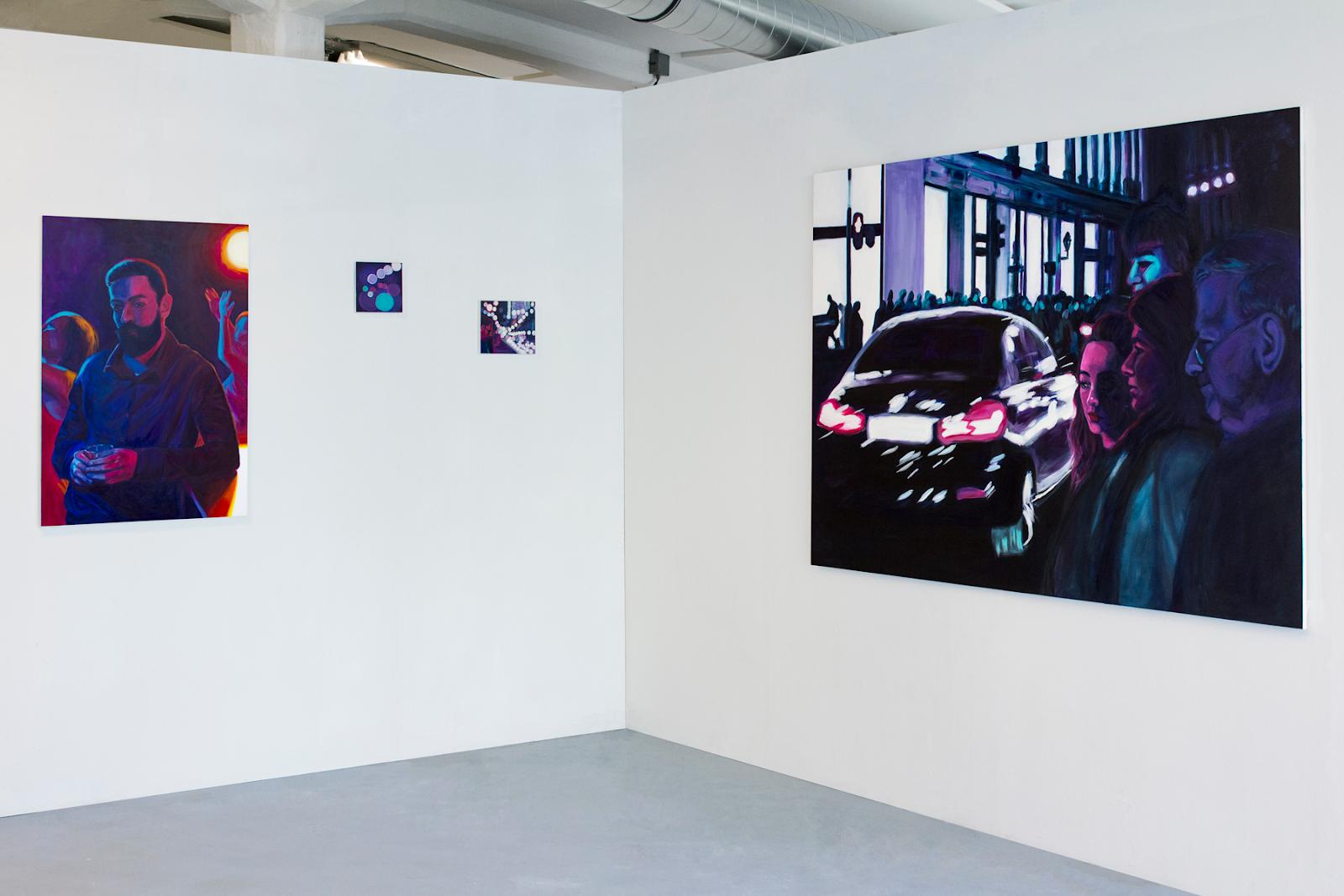 Werken uit de serie Urban Solitude, tijdens Exposure 2018