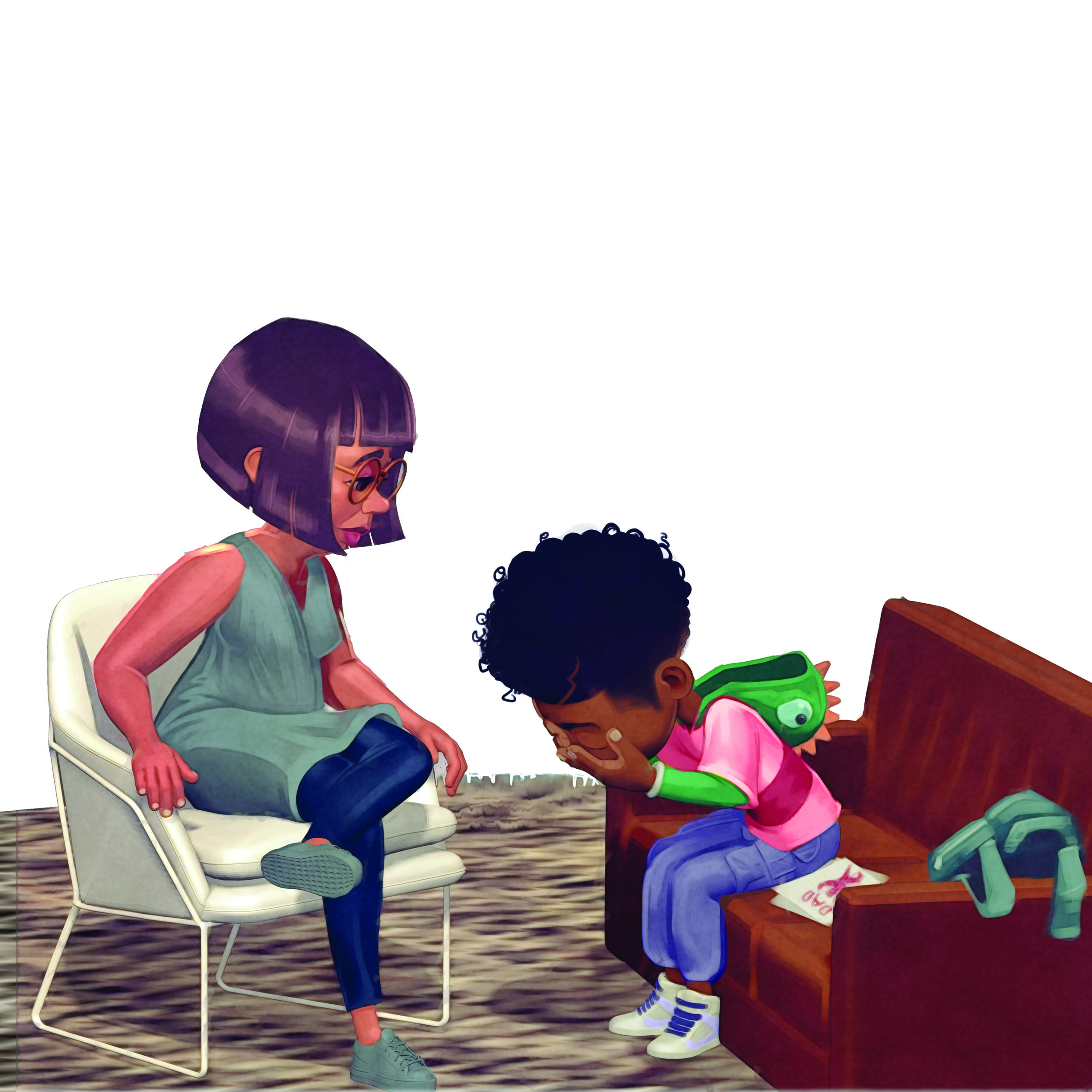 Oh No! When A Parent Goes Away 2018
