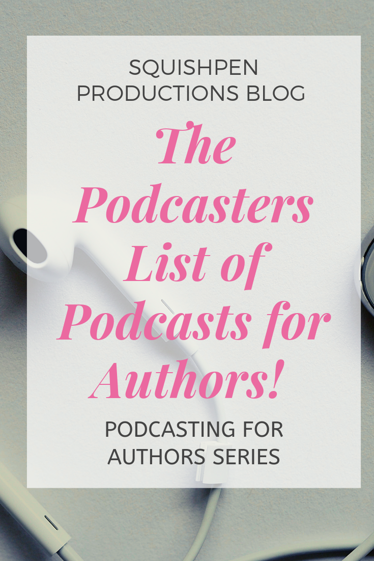 As a writer and podcaster, I love to listen to other podcast that focus on the craft of writing. Many have inspired me to continue the journey or provided insight in the business of writing that I would never have considered. Below are my go to podcasts. I hope you find them helpful in your journey of writing: