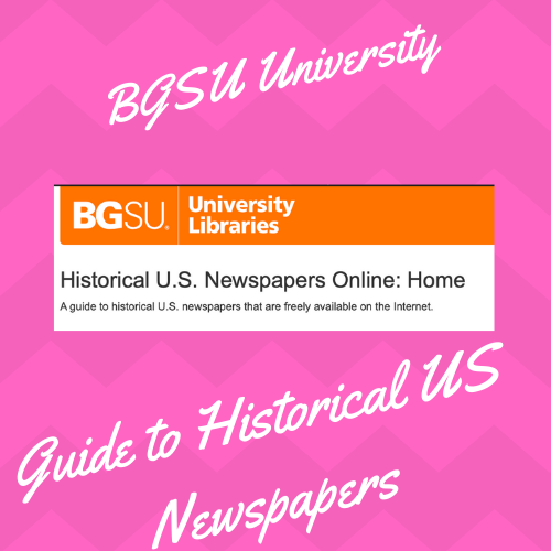 BGSU University US Newspaper Lib Guide:  https://libguides.bgsu.edu/USNewspapersInternet    Due to retirement the BGSU University Newspaper Lib Guide will no longer be updated after June 2019. However, it is an amazing resource for US Newspaper archives. Visit this site today and start to record or bookmark the sites you wish to go back and review.  Here is another link suggested from the lib guid that is excellent, the Ancestor Hunt:  http://www.theancestorhunt.com/newspaper-research-links.html#.XPluLS-ZOqB