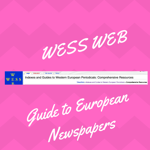 Are you looking for European newspapers, one place to start is here:  https://wessweb.info/index.php/Indexes_and_Guides_to_Western_European_Periodicals:_Comprehensive_Resources#General