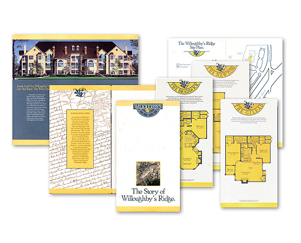 luxury residential real estate brochure