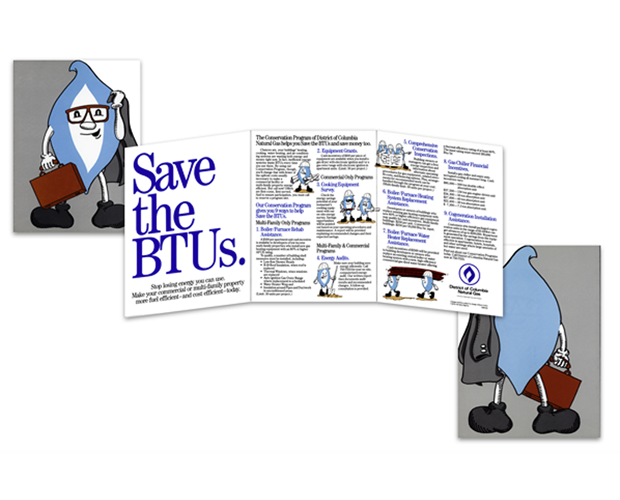 energy company conservation brochure