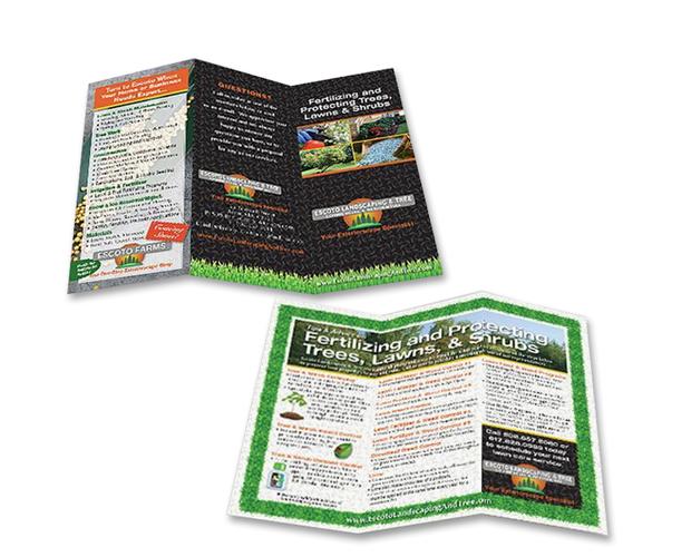 landscaper brochure series