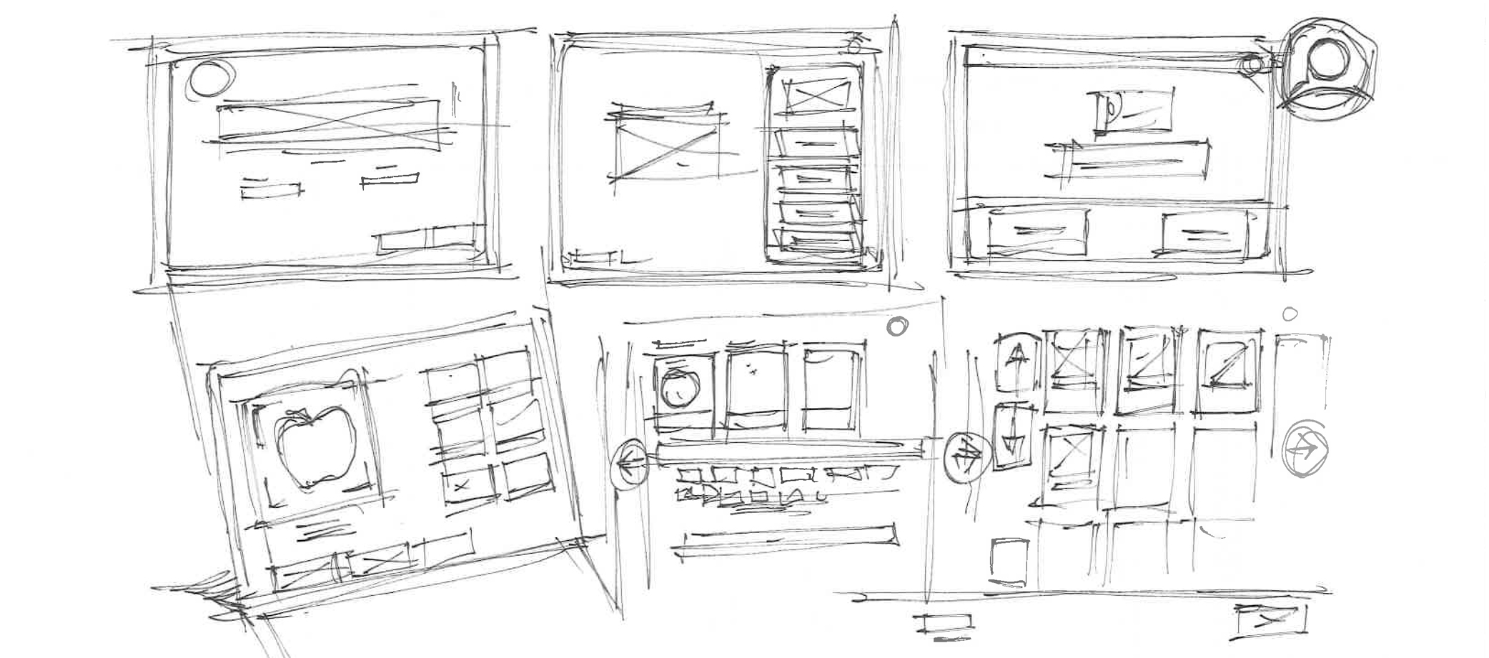 UX Damon wireframes sketches Self CHeckout.jpg