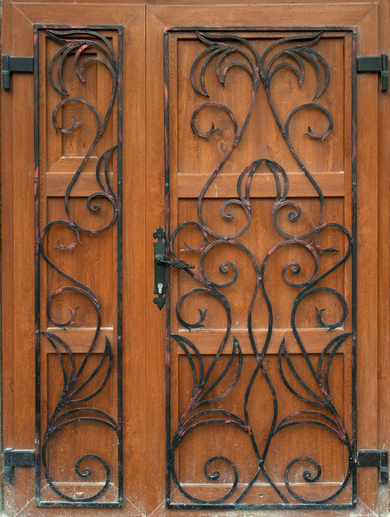 Iron Scribbled Door.jpg