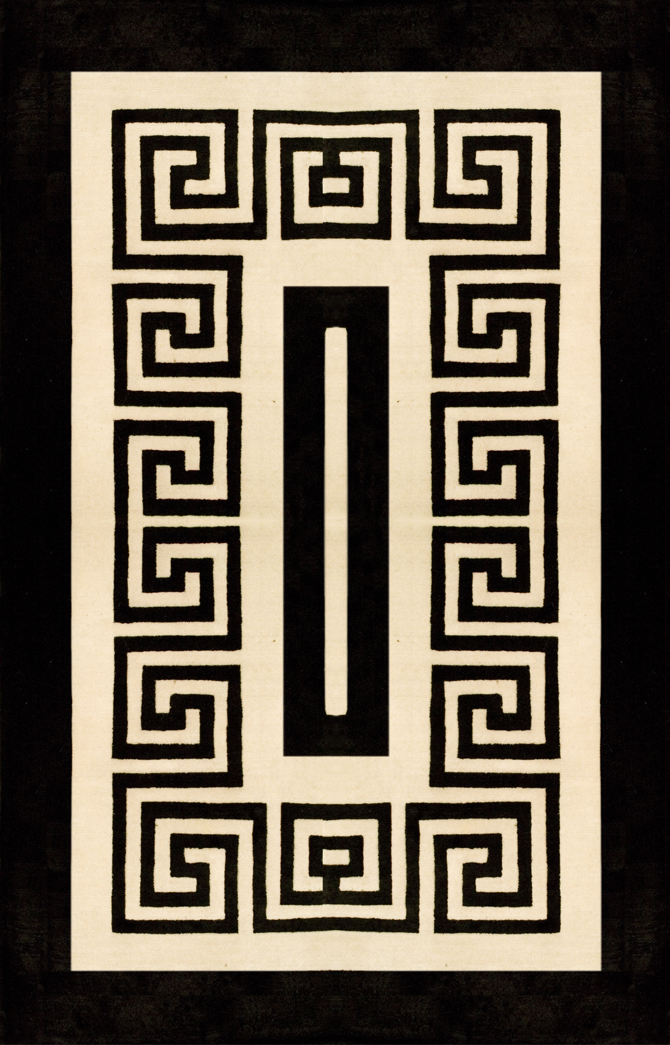Monochrome Tribal Rug.jpg
